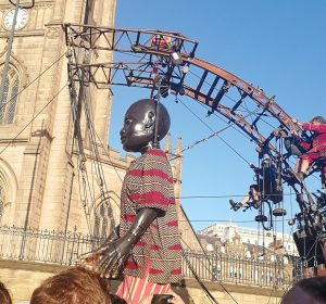 Little Boy Giant spectacular Liverpool